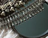 Antique Hand Mirror neckl...