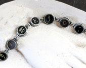 Typewriter Key Bracelet S...