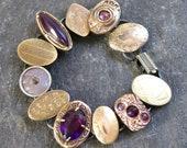Antique Cufflink Bracelet...