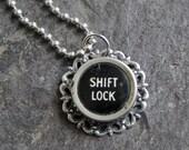 Typewriter Key Necklace P...