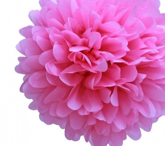 Buy 5 And Get One Free Tissue Paper Flower Pom Pom Paper Etsy