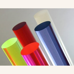 Bubble - One Rod 9.525mm 38 x 28 711.2mm Acrylic Lucite Rod Dowel