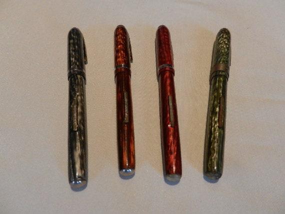 arnold pen company marbleized fountain pen old stock