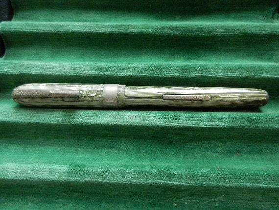 OEM Unbrand Matte Navy Fountain Pen With Bobby Handmade Nib Converter Pen