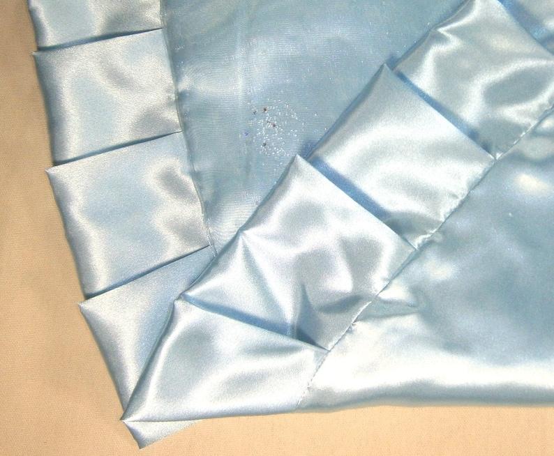 57 Light Blue with Sparkles Christmas Tree Skirt