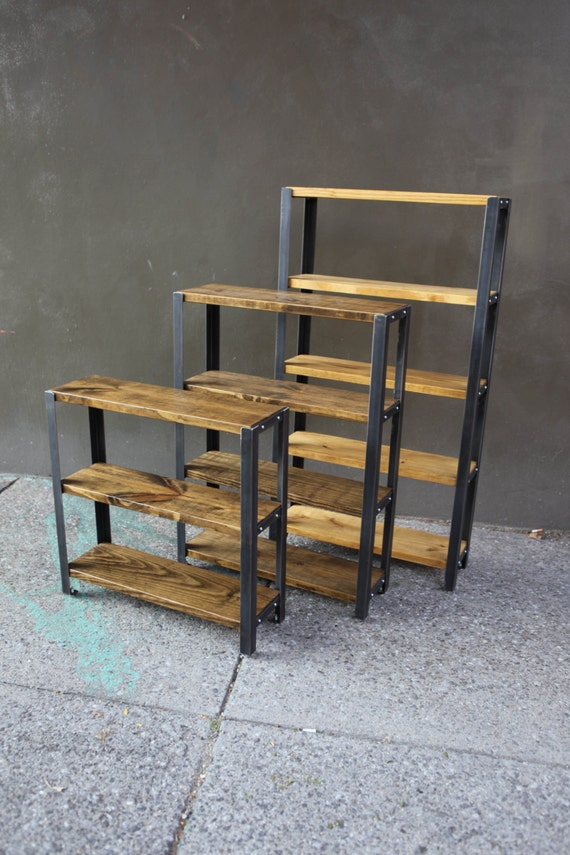 image 0 - Reclaimed Wood Bookshelves