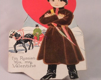 Vintage Valentines Cards Curated By The Art Of Doing Stuff On Etsy