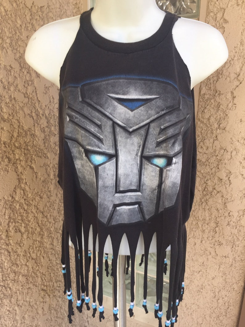 Transformers Bulkhead Handcrafted Halter Top