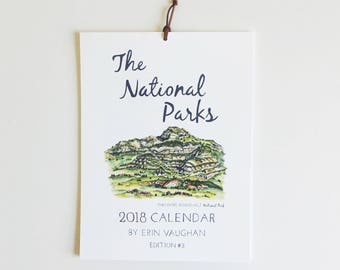2018- Edition #3 National Park Calendar