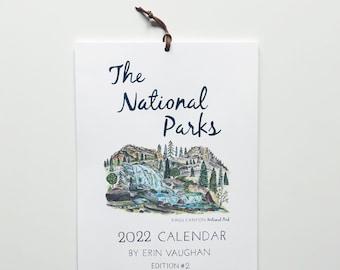 2022- Edition #2 National Park Calendar