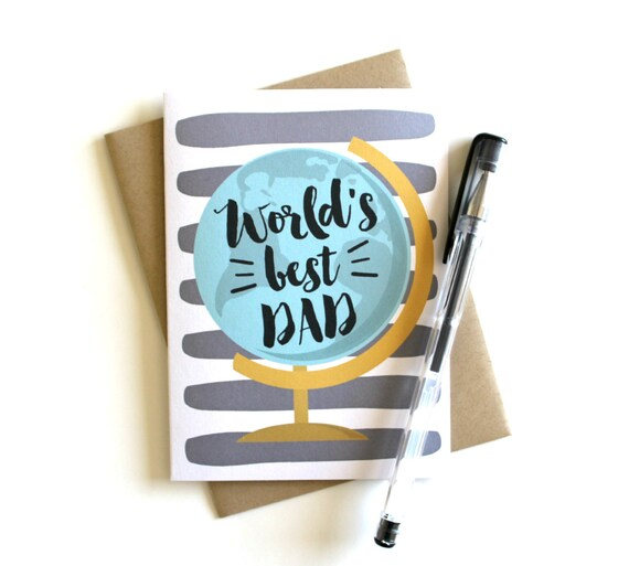 Fathers Day Card Dad Card Father Birthday Card Dad Etsy