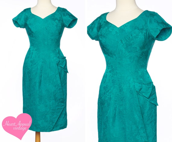 Vintage 1950s Alix of Miami Dress // Pretty Green