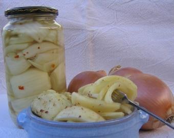Pickled Onion Recipe, Pickled Kula Onions, Hawaiian Pickled Onions PDF Recipe