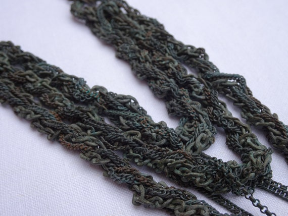 Rope Chain Multi Strand necklace