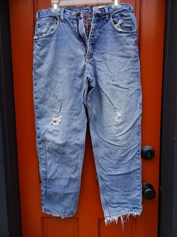 Eddie Bower Jeans, Men' Ripped Jeans,