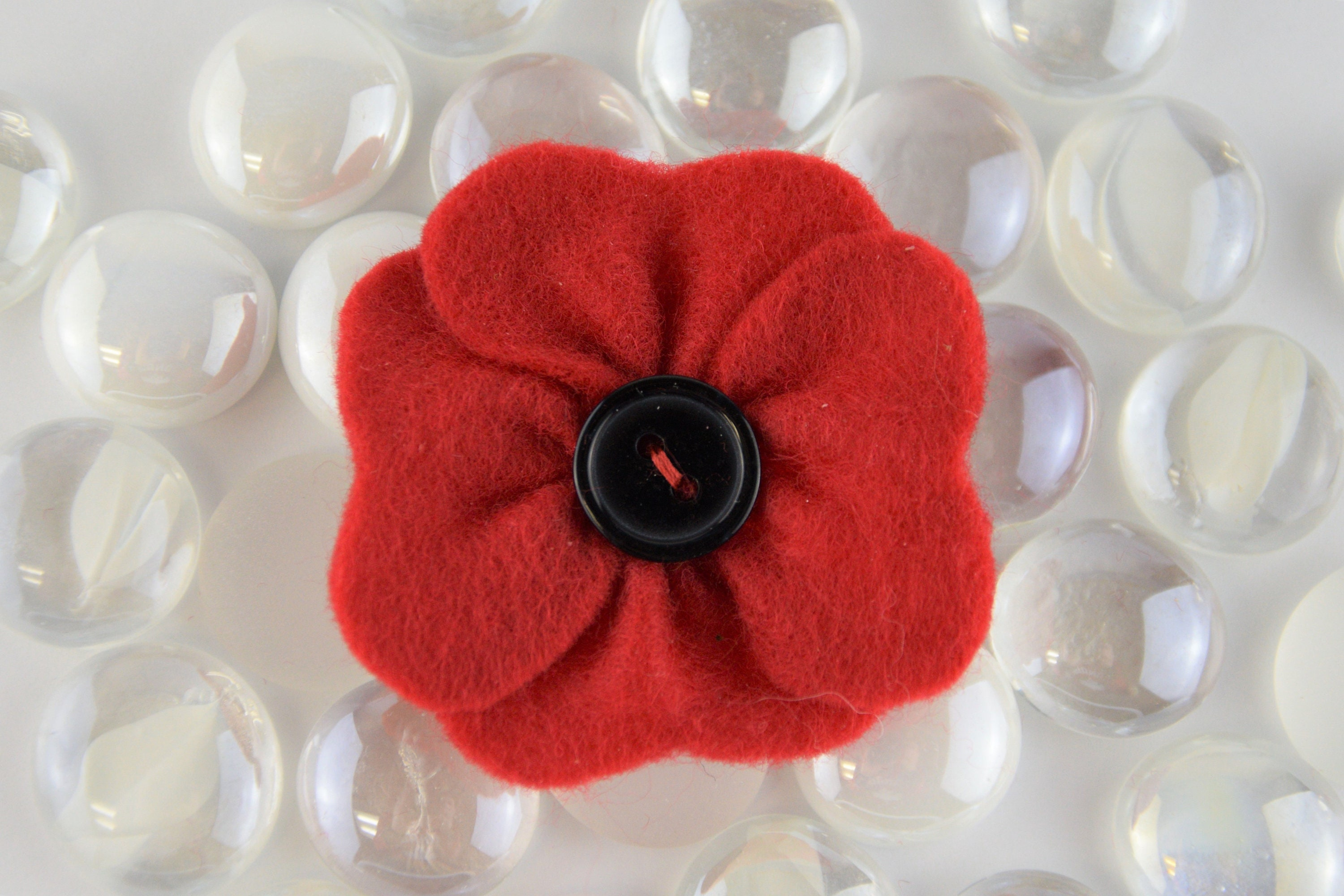Red Poppy Pin Brooch Jewelry Accessories Lapel Pin Perfect Etsy