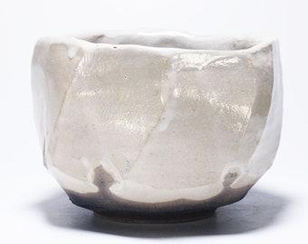 Shino Chawan, Kurinuki Matcha Tea Bowl