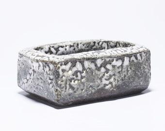 Small Shino Tray, Ceramic Spice Dish