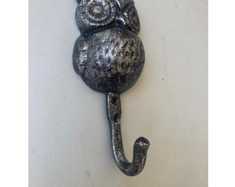 Owl Wall Hook Etsy