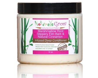Hair conditioner Marshmallow Root Slippery Elm Deep Conditioner -  hair growth