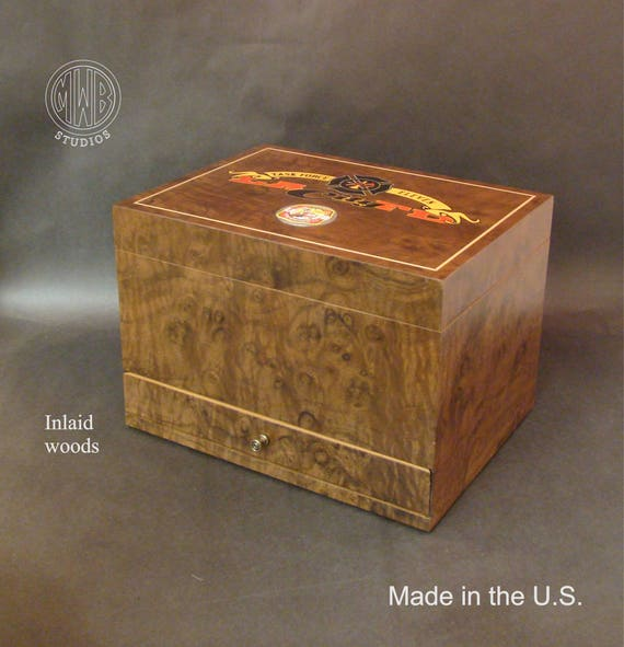 Humidor Handcrafted in the U.S. - Free Engraving, Free Shipping within the U.S.