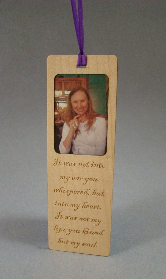 Bookmark, Wood Bookmark, Custom Bookmark, Personal Bookmark, Pet Bookmark, Picture Bookmark, Engraved Bookmark, Keepsake Bookmark