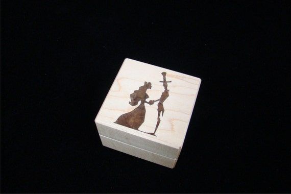 Ring Box, The Proposal. Free Shipping and Engraving. RB-56