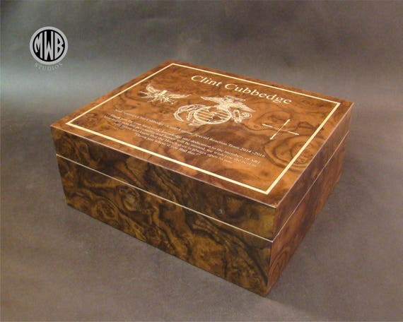 Humidor Handcrafted in the U.S. - HD50 Free Engraving, Free Shipping  within the U.S.