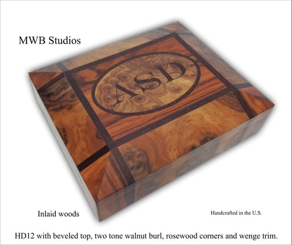 Humidor, Humidors, Personalized Humidor, Cigar Box, Cigar Humidor, Customized Humidor