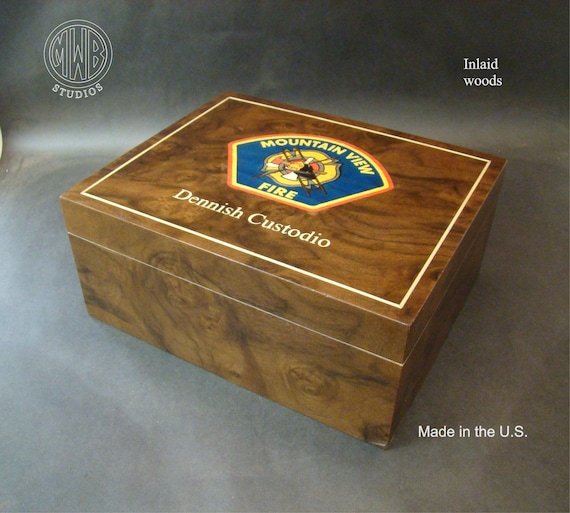 Humidor Handcrafted in the U.S - Free Engraving, Free Shipping within the  U.S
