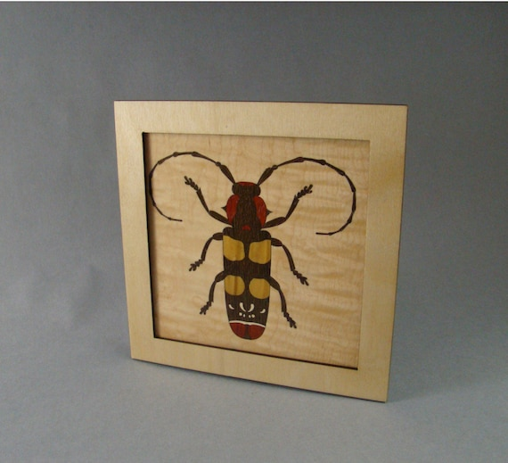 Wall Decor, Inlaid Beetle Free Shipping within the U.S.