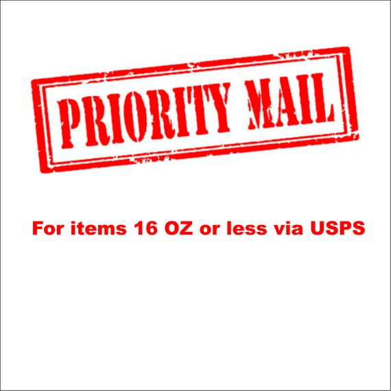 Priority mail upgrade.