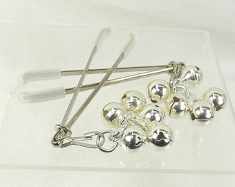 nipple jewelry BDSM toys nipple clamps with bells