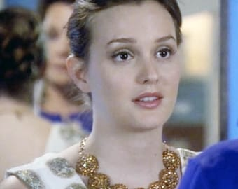 As seen on Ms. Meester as Blair Waldorf on Gossip Girl Swarovski Crystal Necklace 6470N