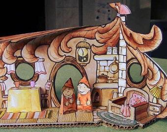 DIY Dwarf Paper House