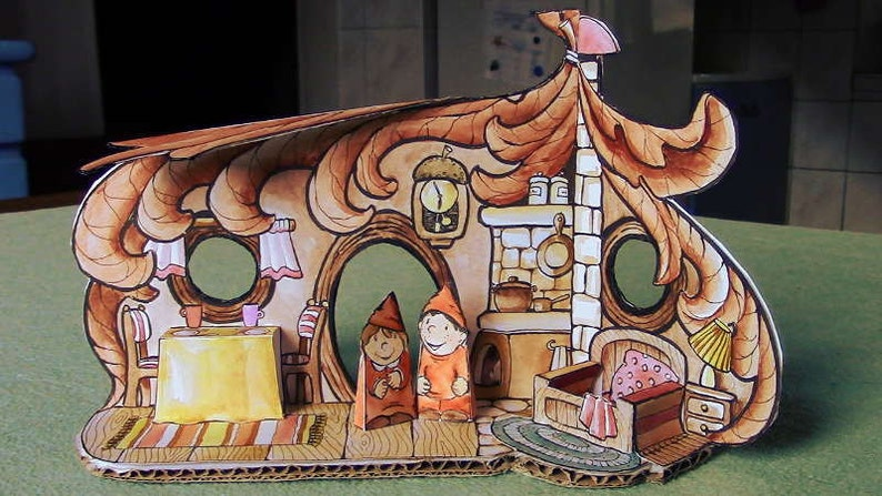 DIY Dwarf Paper House image 0