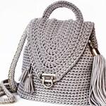 CROCHET PATTERN ⨯ Backpack Purse Crochet Pattern, Backpack Crochet Pattern ⨯ Crossbody Purse Crochet Pattern, Backpack Crochet Pattern