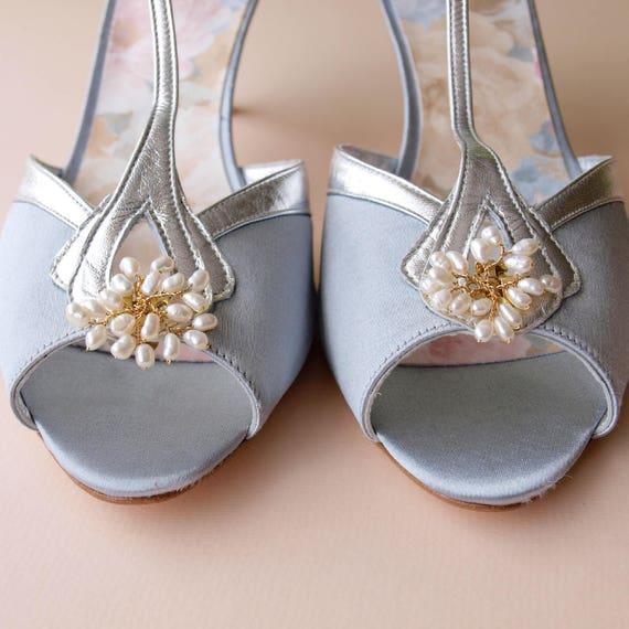 Clips à chaussures bourgeon Pearl | Une Grande Grande Grande Variété De Modèles  639ea8