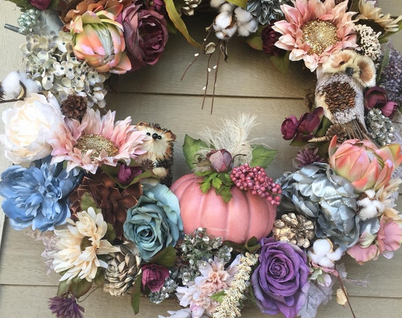 FALL YEAR ROUND Wreath