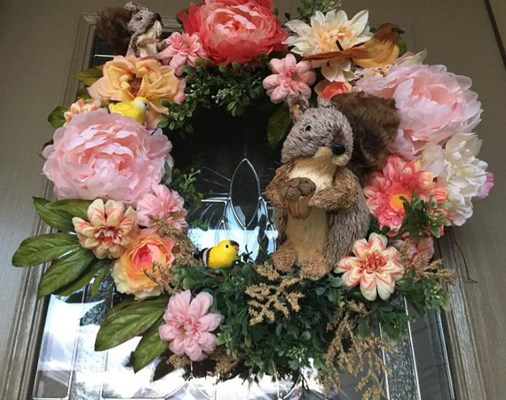 SQUIRREL WREATH