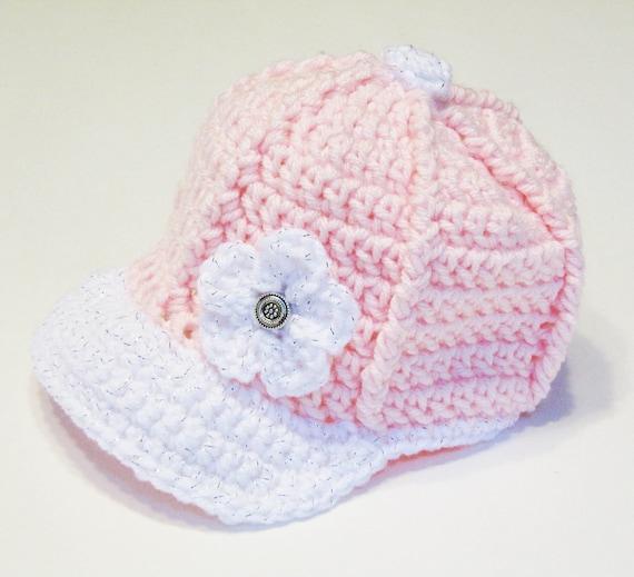 Crochet Baseball Cap CROCHET PATTERN instant download  2c8cc18b07e