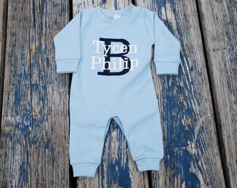 Monag Baby Boy Romper Playsuit Long Sleeve