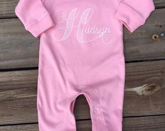 Monag Baby Girl or Boy Romper Playsuit Long Sleeve