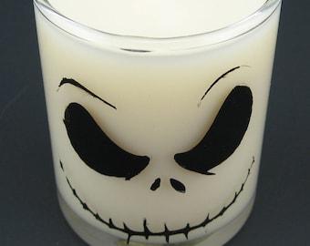 Nightmare Before Christmas Halloween Candle - Jack Skellington or Zero