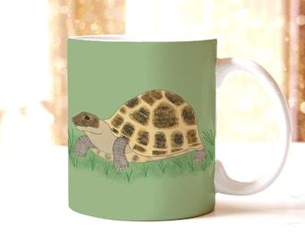 Tortoise Mug, Tortoise, Animal Mug, Hot Drinks Mug, Tea Mug, Coffee Mug, Tortoise Gift, Animal Lover Gift, Animal Gift, Ceramic Mug