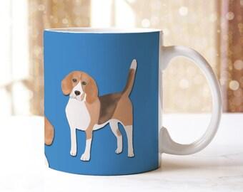 Dog Mug, Beagle Mug, Beagle, Dog, Mug, Hot Drinks Mug, Tea Mug, Coffee Mug, Beagle Gift, Dog Lover Gift, Gifts for Him, Gifts for Her