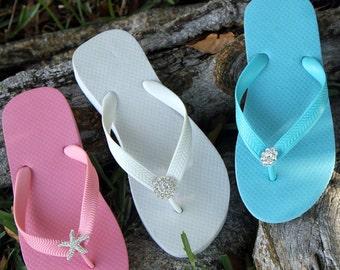 41394752f 8 Pair Lot Clearance Womens Flip Flop-Wedge Flip Flop- Bulk Sale Flip Flop-Bridal  Flip Flops-Reception Flip Flops-Wedding Gifts