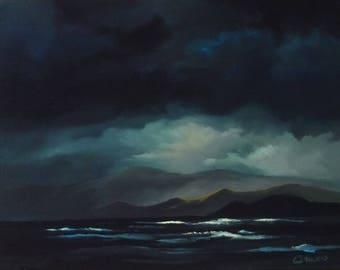 storm along the coast