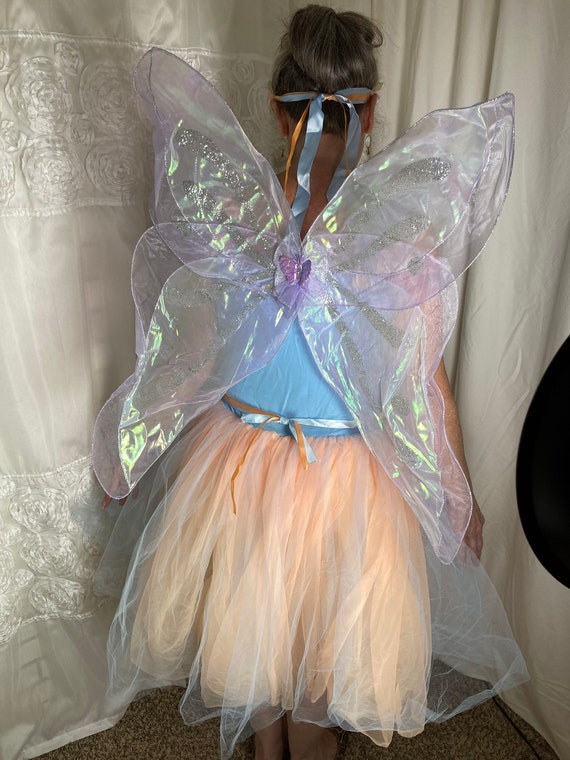Woman's Fairy Dress with Wings tag size S-L