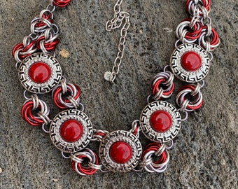 Mobius Medallions Necklace